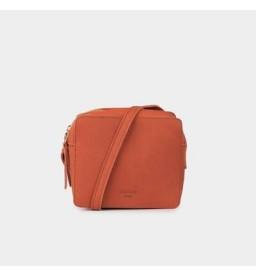 NADINE MINI WESTERN APPLE RED SHOULDER BAG