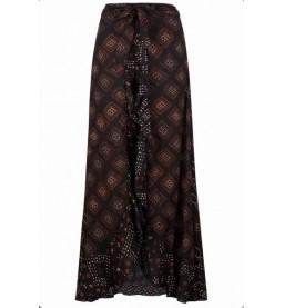 Skirt with Pants Mixed Aztek Print