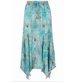 Isla Maxi Skirt All Over Printed